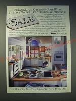 1989 Jenn-air Appliances Ad - Now Jenn-Air kitchens come with the one feature