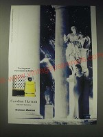 1989 Carolina Herrera Perfume Ad - The fragrance that dresses a dream