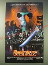 1989 Friday the 13th Part VIII - Jason Takes Manhattan Movie Ad