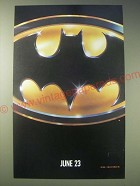 1989 Batman Movie Ad - June 23