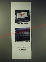 1989 Samsung VCR Ad - Hottest rental. 2007 A.D. The VCR you'll play it on. 2007