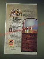 1989 Formby's Furniture Refinisher Ad - Ordinary people Extraordinary Results