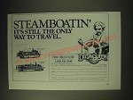 1989 Delta Queen Steamboat Co. Ad - Steamboatin' It's still the only way