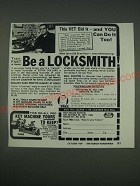 1989 Foley-Belsaw Institute Ad - locksmith