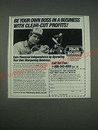 1989 Foley-Belsaw Co Ad - Be your own boss in a business with clear-cut profits