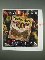 1989 Crabtree & Evelyn Ad