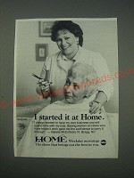 1989 ABC Home TV Show Ad - I started it at Home