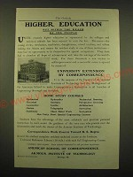 1902 Armour Institute of Technology American School of Corresondence Ad