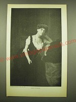 1902 Magazine Print of a Photograph by Bradley Studio - Edith Wharton