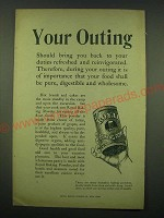 1902 Royal Baking Powder Ad - Your outing