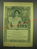 1902 Libby's Soups Ad - Libby's good things to eat