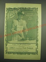 1902 Libby's Melrose Pate Ad - Libby's Good things to eat