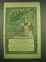 1902 Libby's Ox Tongue Ad - Libby's natural flavor food products