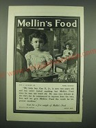 1902 Mellin's Food Ad - Guy S. Cothran, Jr. Rome, Georgia