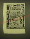 1902 Iver Johnson Safeety Hammer Automatic Revolvers Ad