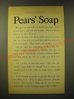 1893 Pears' Soap Ad - Pears' Soap We get on with half our bodily functions