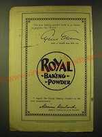 1893 Royal Baking Powder Ad - The best baking powder made is as shown