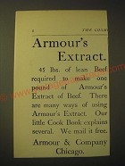 1893 Armour's Extract of Beef Ad