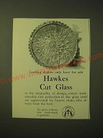 1893 Hawkes Cut Glass Ad - Leading Dealers only have for sale Hawkes Cut Glass