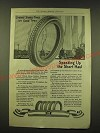 1918 United States Tires Ad - Speeding up the short haul