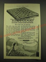 1918 Wilson & Co. Restgood Sanitary Curled hair mattress Ad - more than ever