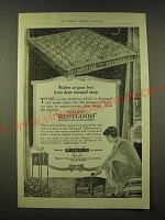 1918 Wilson & Co. Restgood Sanitary Curled hair mattress Ad - waken