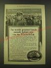 1918 Victor Victrola Ad - John Philip Sousa - The world's greatest bands
