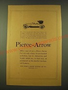 1918 Pierce-Arrow  Ad - After years of use a Pierce-Arrow car not only retains