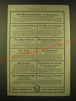 1918 Charles Scribner's Sons Ad - You no longer count