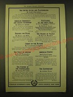 1918 Charles Scribner's Sons Ad - The United States and Pan-Germania