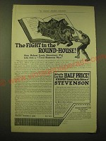 1918 Charles Scribner's Sons Ad - The Fight in the Round-House