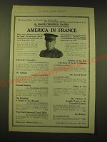 1918 Dodd, Mead & Company Ad - America in France
