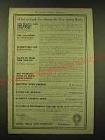 1918 Dodd, Mead & Company Ad - What to look for