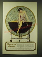 1924 Holeproof Hosiery Ad - art by Coles Phillips