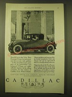 1924 Cadillac Two-Passenger Coupe Ad