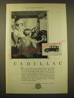 1924 Cadillac Cars Ad - art by Donald Gardner