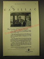 1924 Cadillac V-63 Motor Car Ad - The verdict of veteran owners