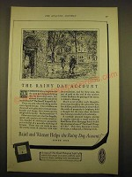 1924 Baird and Warner Ad - The rainy day account
