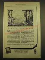 1924 Baird and Warner Ad - God's out-of-doors