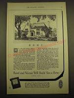 1924 Baird and Warner Ad - Home