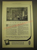 1924 Baird and Warner Ad - Knowledge