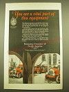 1924 Insurance Company of North America Ad - You are a vital part of this