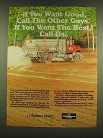 1990 Southern States Ad - If you want good, call the other guys