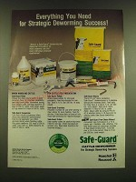 1990 Hoechst Roussel Safe-Guard Cattle Dewormer Ad - Everything you need