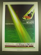 1990 Snapper Pro Series Walk-Behind Commercial Mowers Ad - We're making history