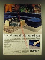 1990 Sears Lasting Images Furniture Ad - If you can't see yourself in this