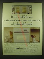 1990 Jenn-Air Selective Use Convection/radiant Oven Ad