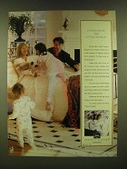 1990 Serta Perfect Sleeper Mattresses Ad - Invasion of the little people