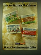 1990 General Foods International Coffees Ad - Café Vienna, Suisse Mocha