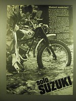 1966 Suzuki Motorcycles Ad - Weekend wanderlust?
